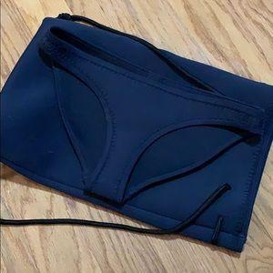 TRIANGL Bikini bottoms and backpack
